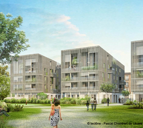 Logements ZAC Auvry-Barbusse